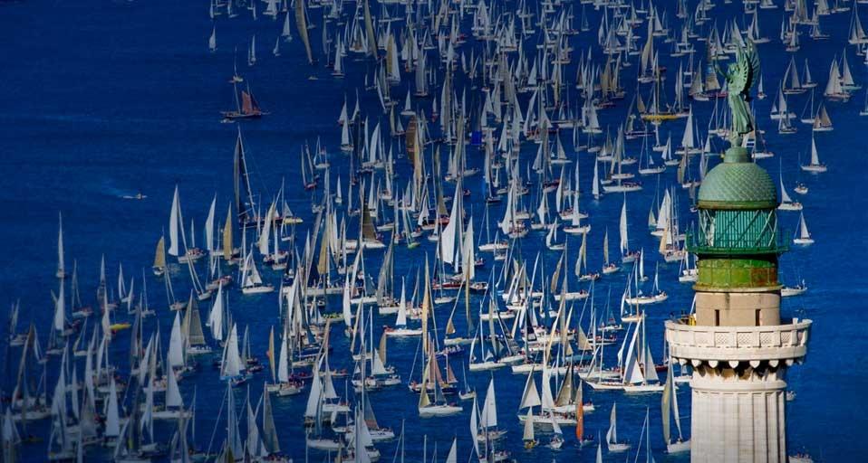 拉扎尔壁纸_在意大利的里雅斯特举办的帆船赛 - 笨翁网