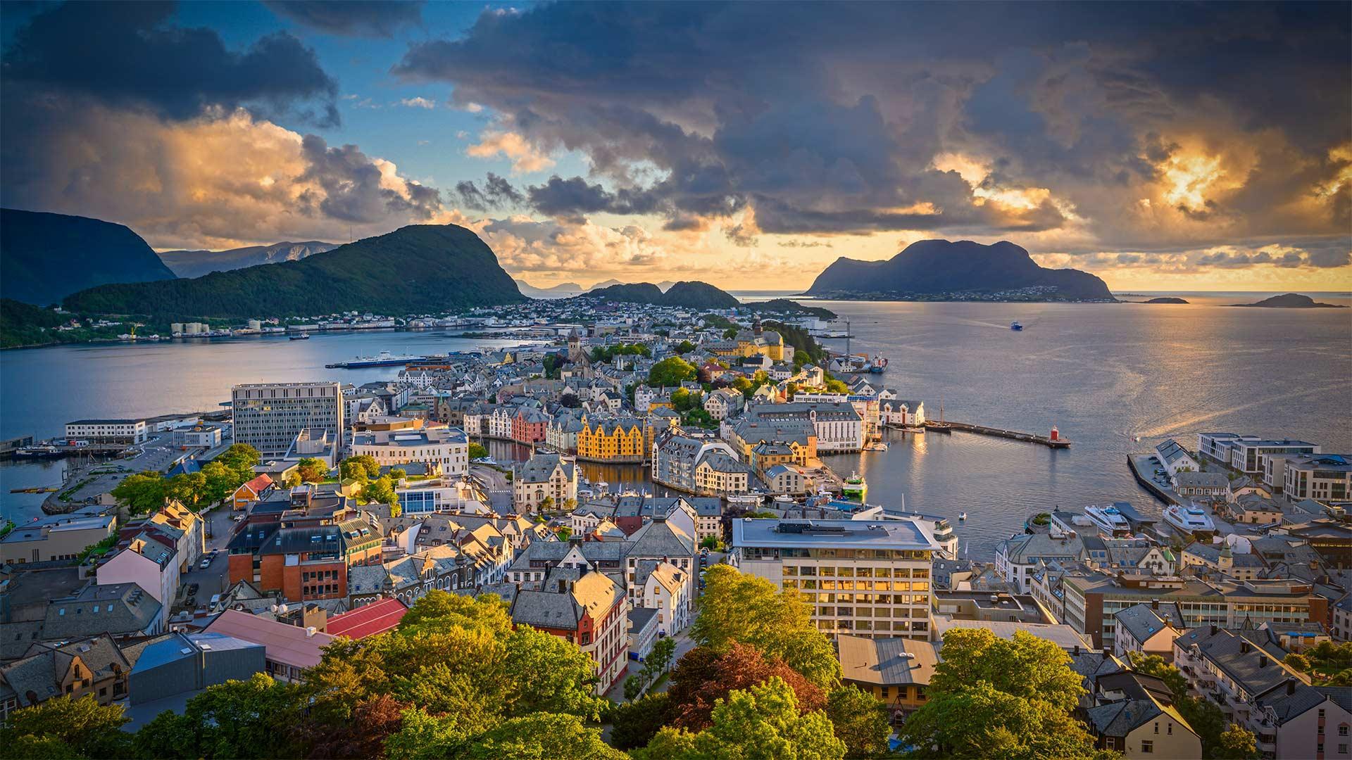 奥勒松,挪威