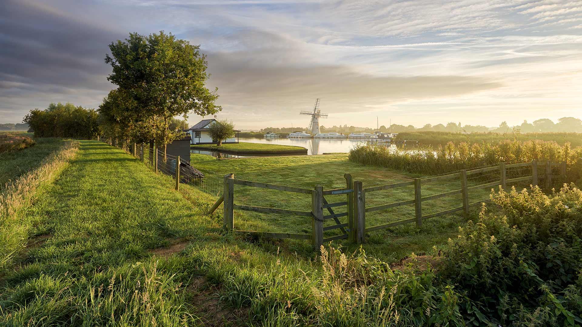 布罗兹湿地国家公园,英国诺福克郡